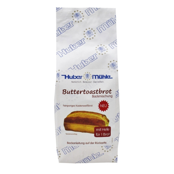 Buttertoast- Backmischung 400g